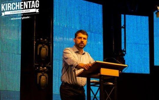«mitenand glaube» Vortrag von Gottfried Locher