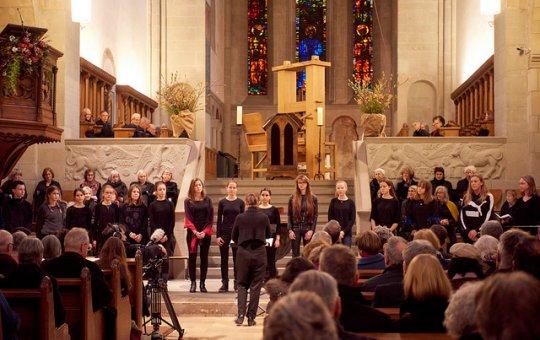 Konfirmation in der Kirche
