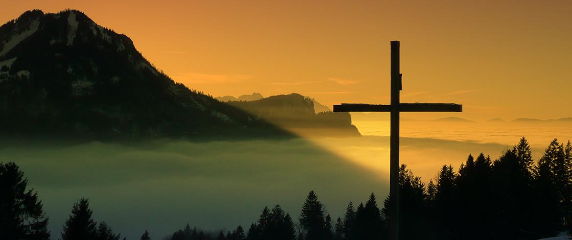 Christlicher Glaube, Gipfelkreuz