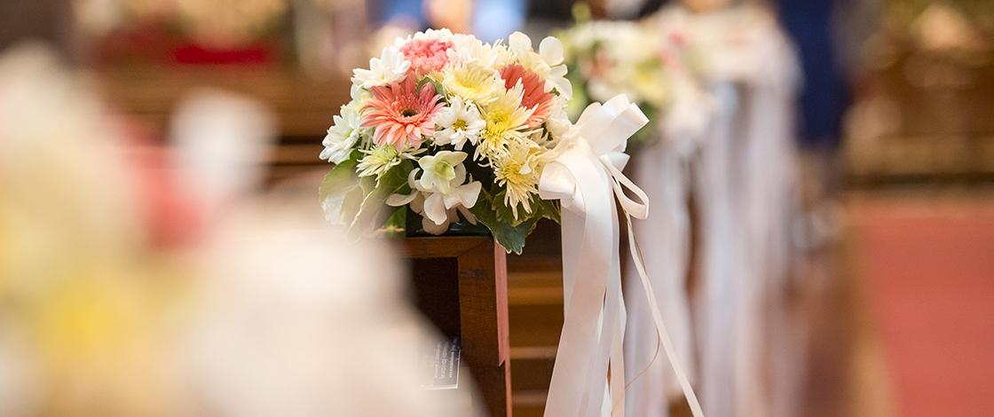 Kirchliche Trauung und Hochzeit, Paar