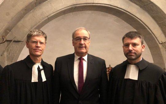 Reformationssonntag, gemeinsame Predigt von Bundesrat und Kirchenbundpräsident