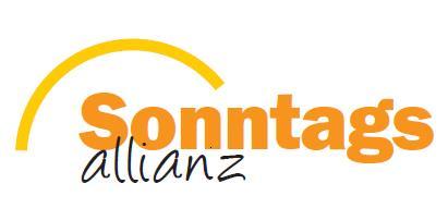 Sonntags Allianz Stellungnahme 2020