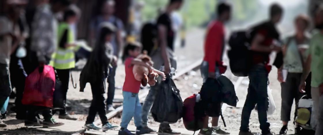 Osterhilfe, Familien auf der Flucht