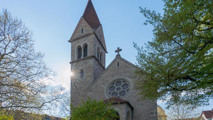 Kirche in Zug