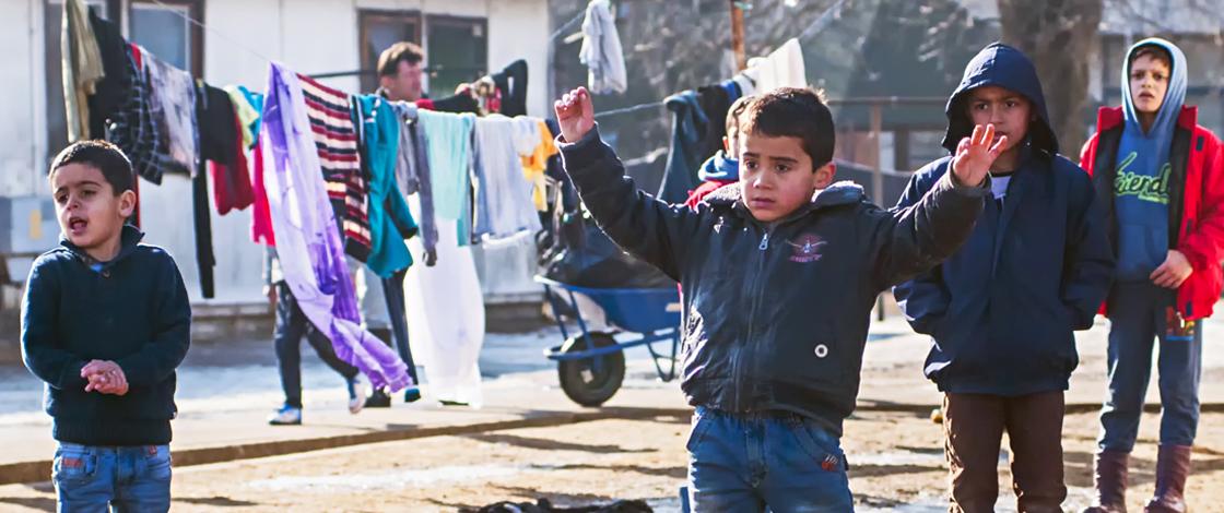 Flüchtlingssonntag, Flüchtlingskinder