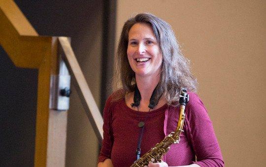 Doris Witt Saxophonistin