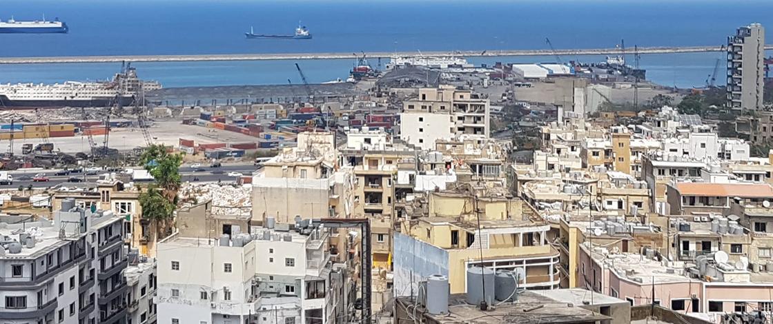 Hafen von Beirut