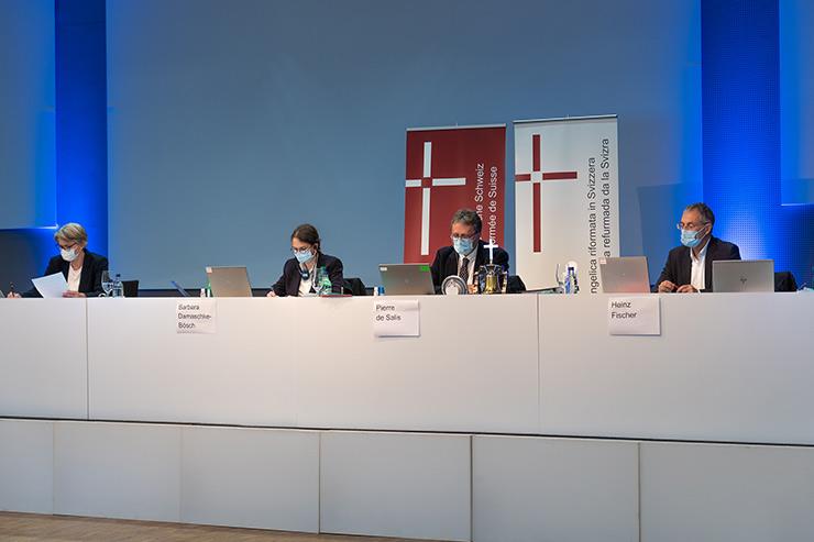 Virtuelle Synode an der BERNEXPO
