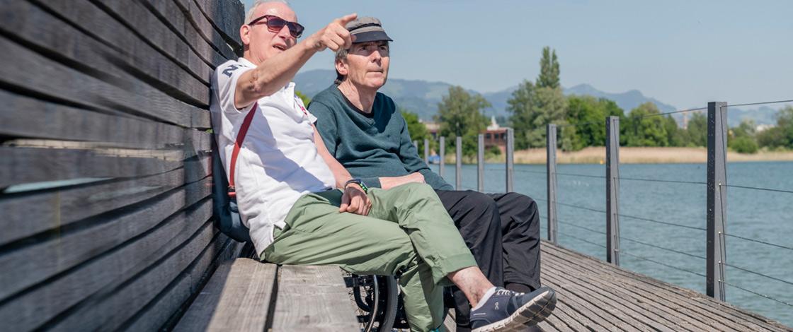 Entlastungsdienst, Betreuung im Alter