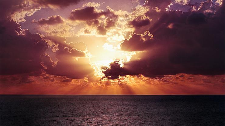 Hoffnung, Sonnenaufgang
