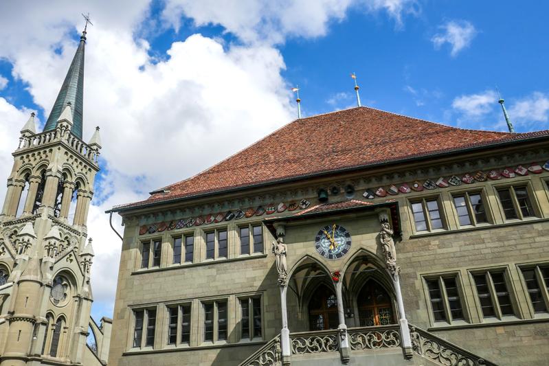 Synode Rathaus Bern 2021
